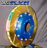 KVR Gas-Slotted Rotors